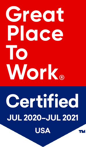 2020 Great Place to Work Certified